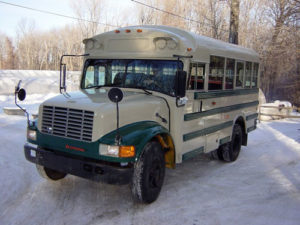 Ward school bus