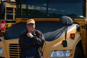 School Bus Driver Scott Friend