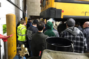 Propane bus training