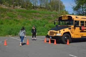 School bus mirror training
